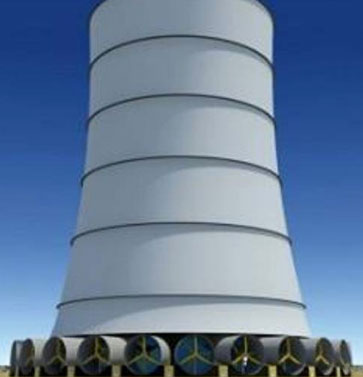 Solar Wind Tower