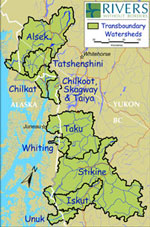 Transboundary Watershed Map